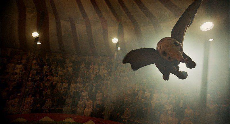 ▲化成小丑般的小飛象,雖然真的飛起來贏得觀眾滿堂喝采。但臉上的表情卻訴說著無奈與...