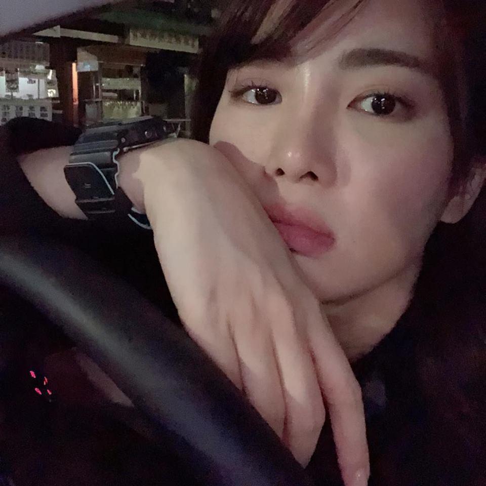女星舒子晨也被說過像宋慧喬。圖/擷自臉書