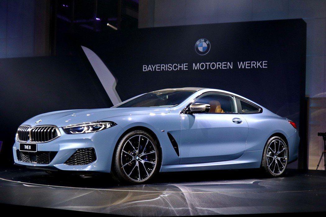 BMW M850i擁有優雅又動感的造型。 記者陳威任/攝影