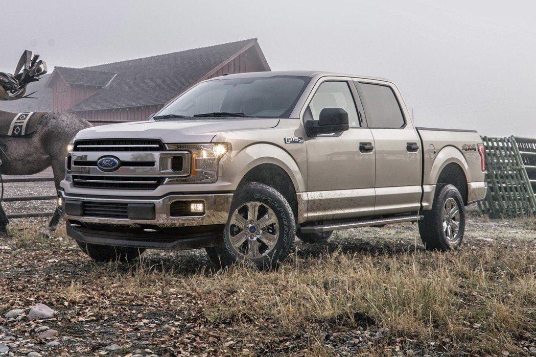 Ford F-150貨卡在美國相當暢銷。 摘自Ford