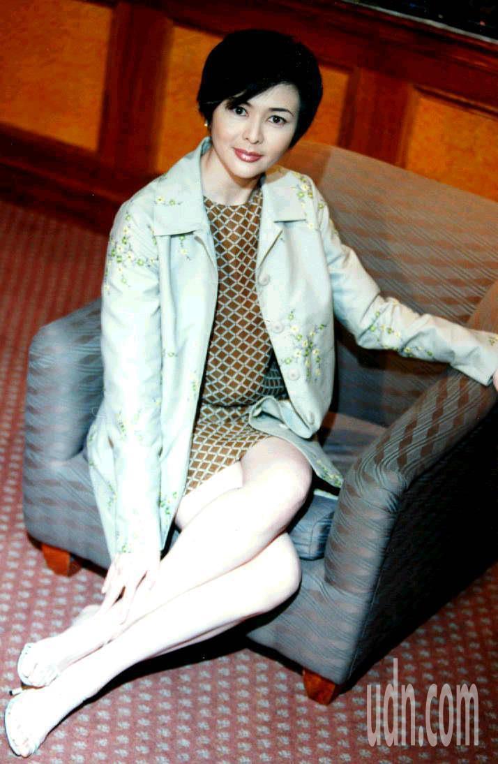 關之琳有「香江第一美人」。圖/聯合報系資料照