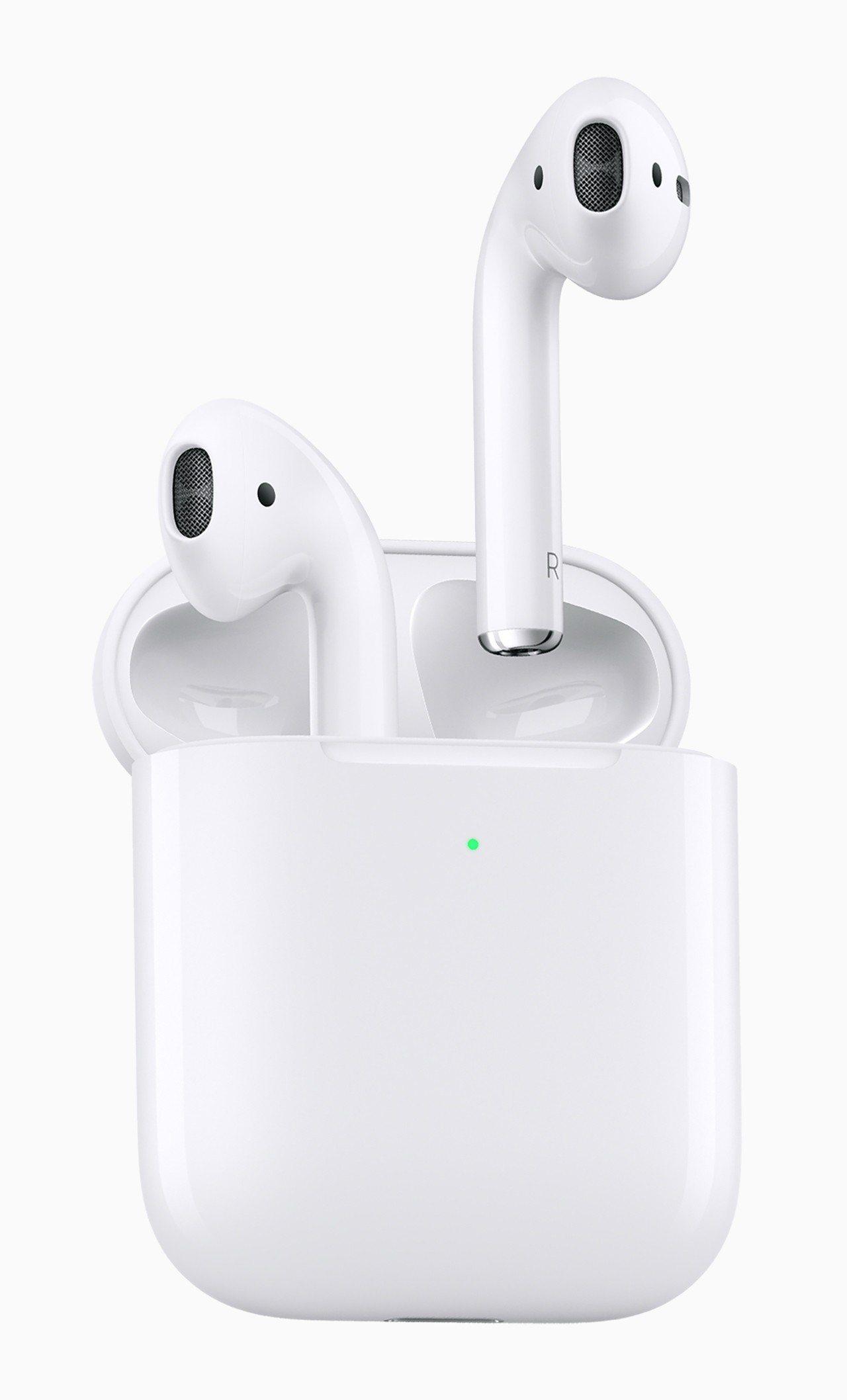 蘋果新款AirPods。 歐新社
