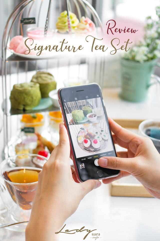 Lady Nara的英式下午茶組是明星商品。圖/摘自臉書Lady Nara