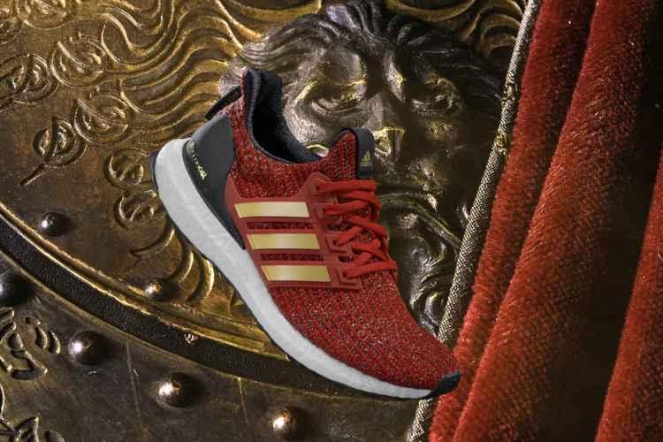 House Lannister Ultraboost 藍尼斯特家族主題聯名鞋款,...