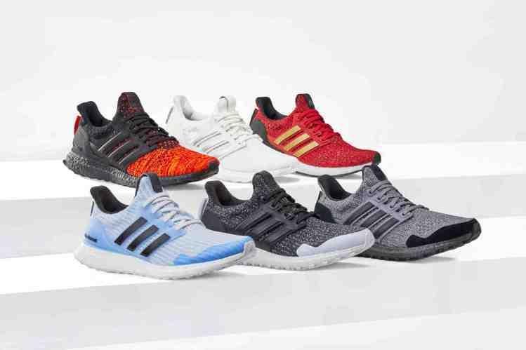 adidas推出限量聯名鞋款:Ultraboost_X《冰與火之歌:權力遊戲》系...