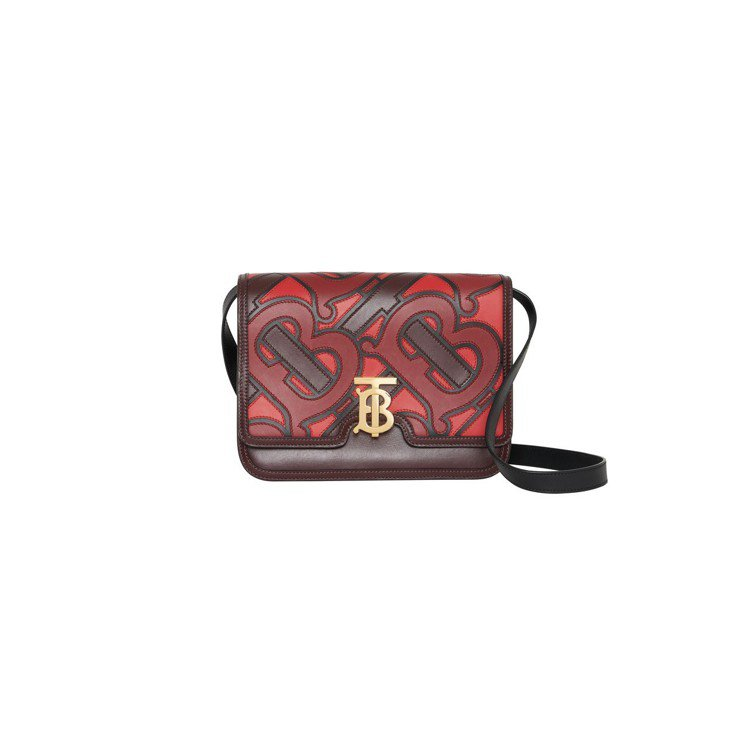 TB Bag monogram印花款式,售價85,000元。圖/BURBERRY...