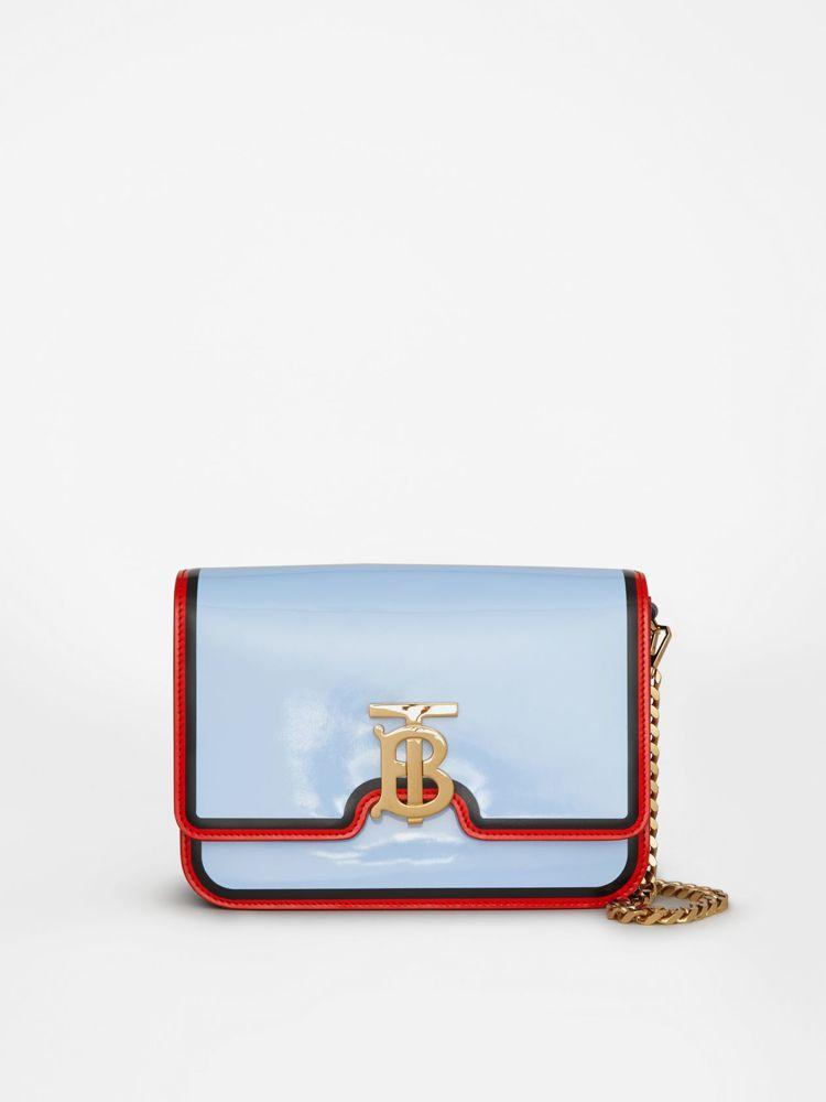 TB Bag雙色款式,售價85,000元。圖/BURBERRY提供