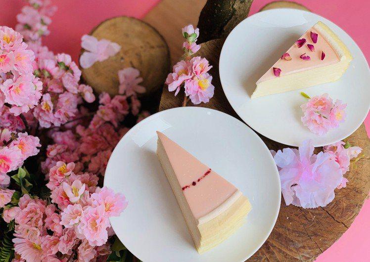 四月份Lady M以春季花香為主題。記者張芳瑜/攝影