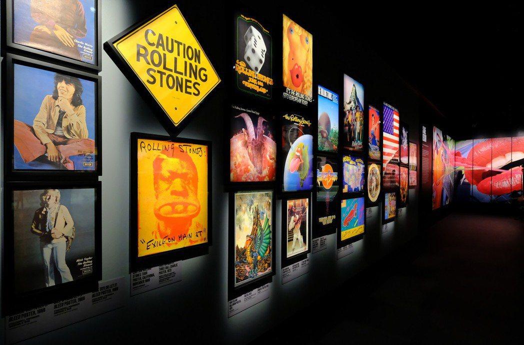 「Exhibitionism-滾石合唱團展」。圖/滾石合唱團展提供