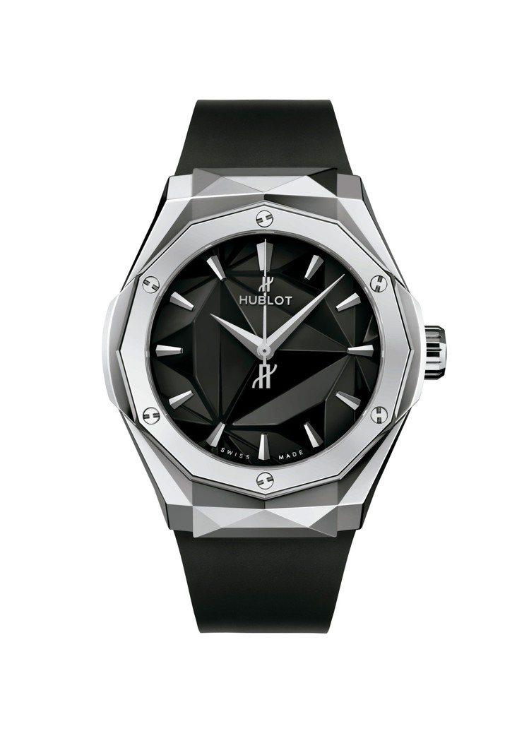 宇舶經典融合系列Orlinski聯名腕表,鈦金屬表殼,全球限量200只,價格未定...
