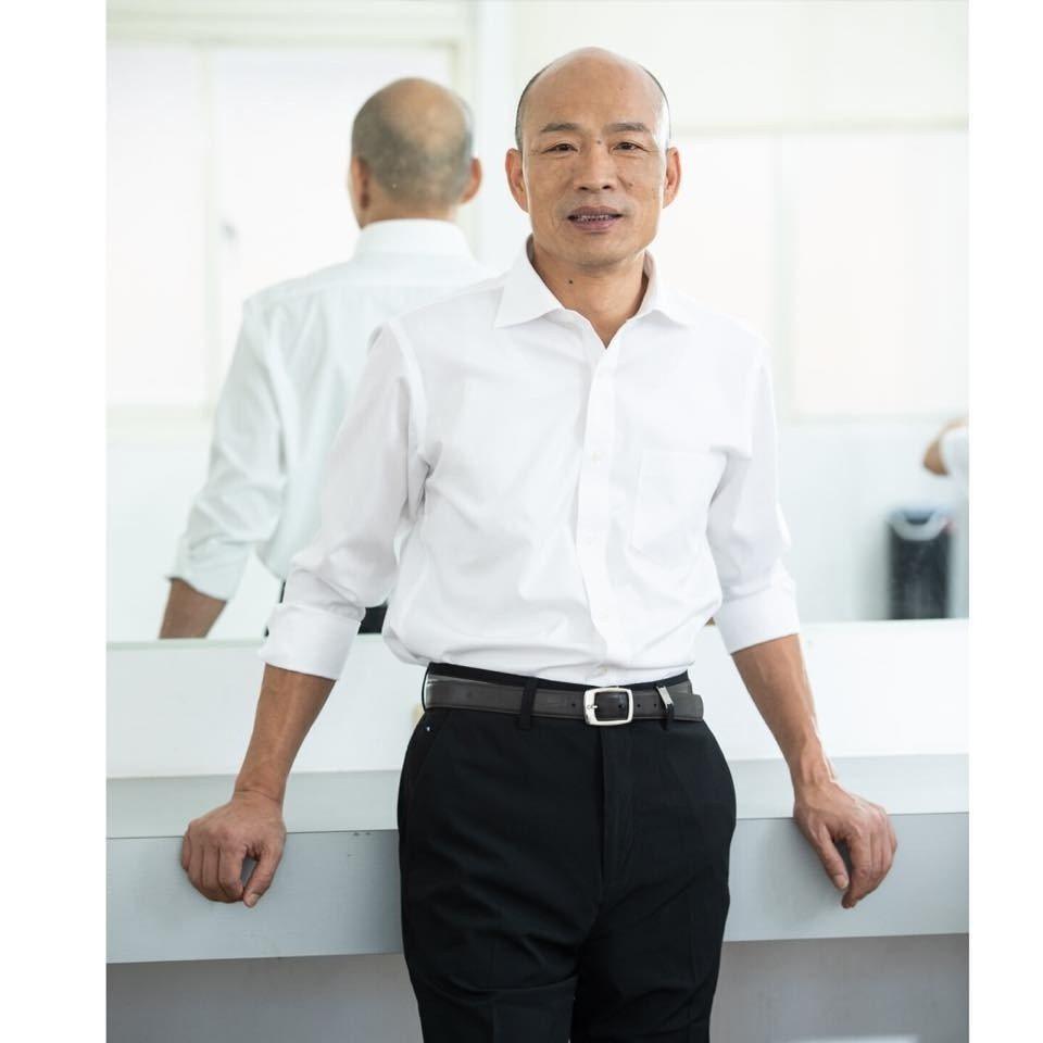 高雄市長韓國瑜被視為總統熱門人選。圖/摘自臉書