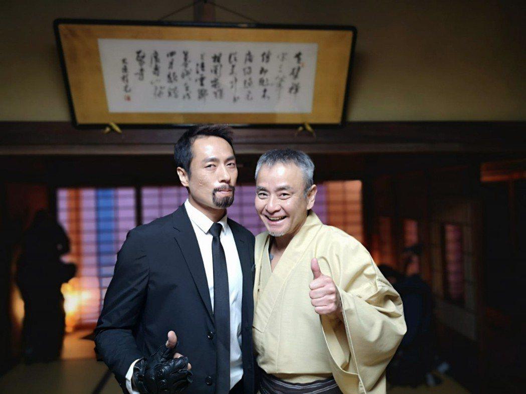 莊凱勛挑戰從雙眼皮變單眼皮,和日本藝人芦川誠合作  圖/凱渥提供