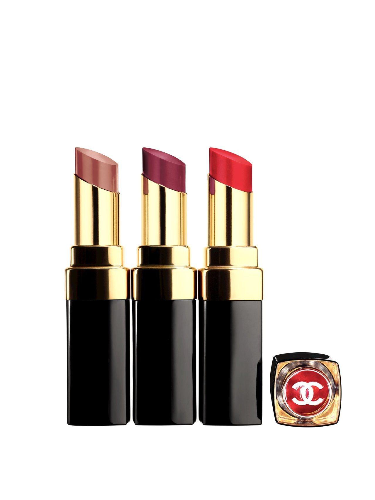 香奈兒COCO晶亮水唇膏共27色,售價1,280元。圖/香奈兒提供
