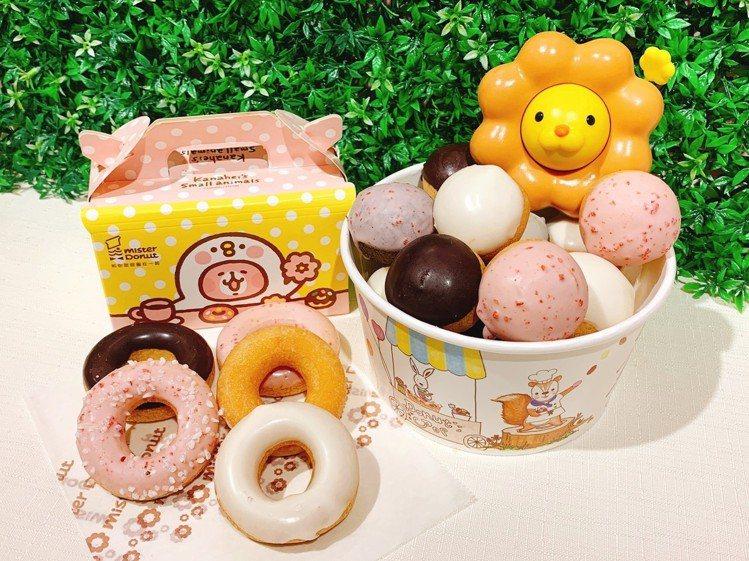 歡樂5Q(左)售價60元;Donut POP(右)售價140元。圖/Mister...