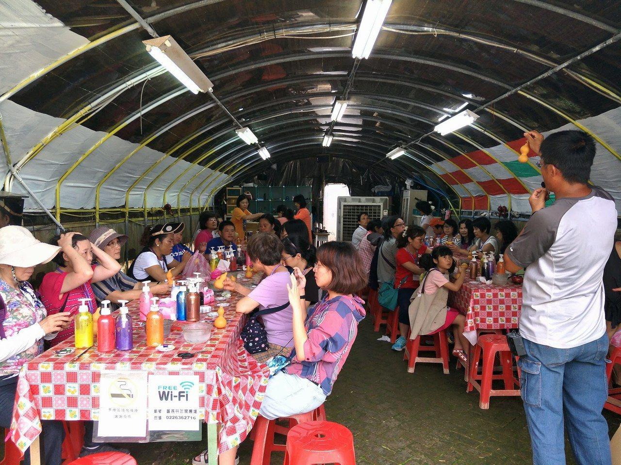 蕃婆林休閒農場提供DIY活動。圖/蕃婆林休閒農場提供