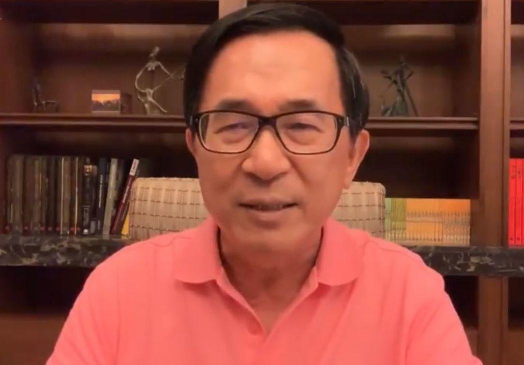 前總統陳水扁20日深夜在臉書重砲反擊台南市前市議員郭秀珠對他的指控,強調郭所說不...