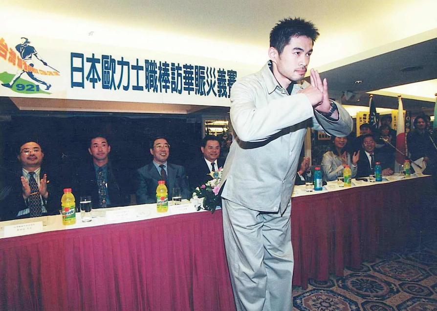 鈴木一朗1999年來台。 報系資料照