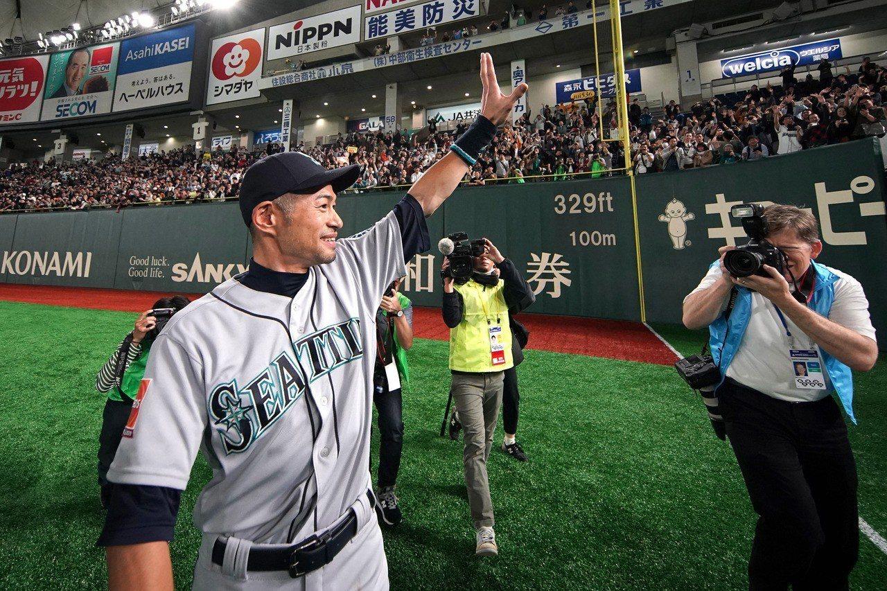 MLB/回日本打兩場 一朗進名人堂得多等1年