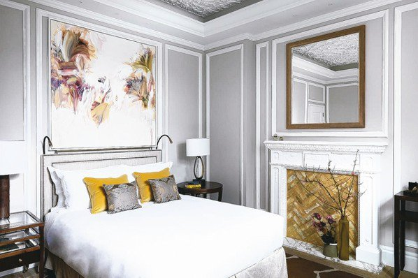 Belmond Cadogan Hotel各間客房均有精心挑選的藝術畫作。 圖/...