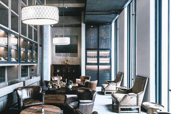 CHAO酒店內設簡約,頗有當代藝術的前衛感。 圖/各業者提供