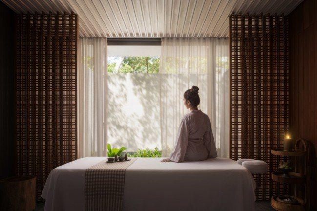 水療、瑜珈等身心靈活動也是阿麗拉瓜隆群島別墅的特色之一。(阿麗拉提供)