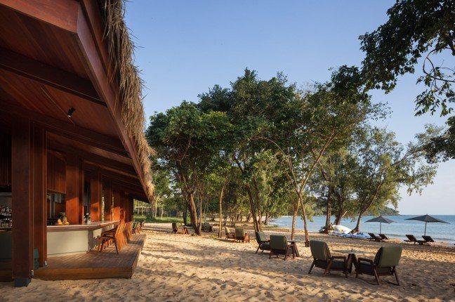 柬埔寨瓜隆群島擁有茂密的原始景觀。(阿麗拉提供)