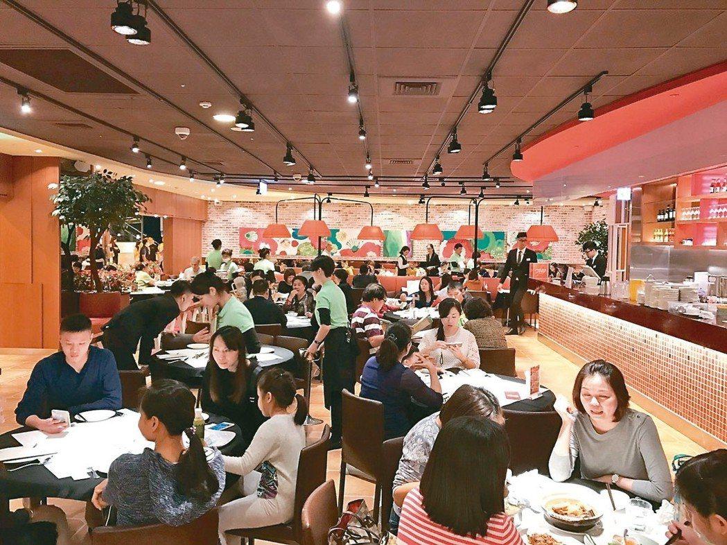 「瓦城」是讓泰式料理在台灣市場發揚光大的功臣。 記者韓化宇/攝影