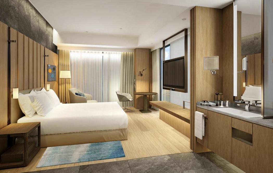 台北中山逸林酒店擁有106間客房。 圖/台北中山逸林酒店提供