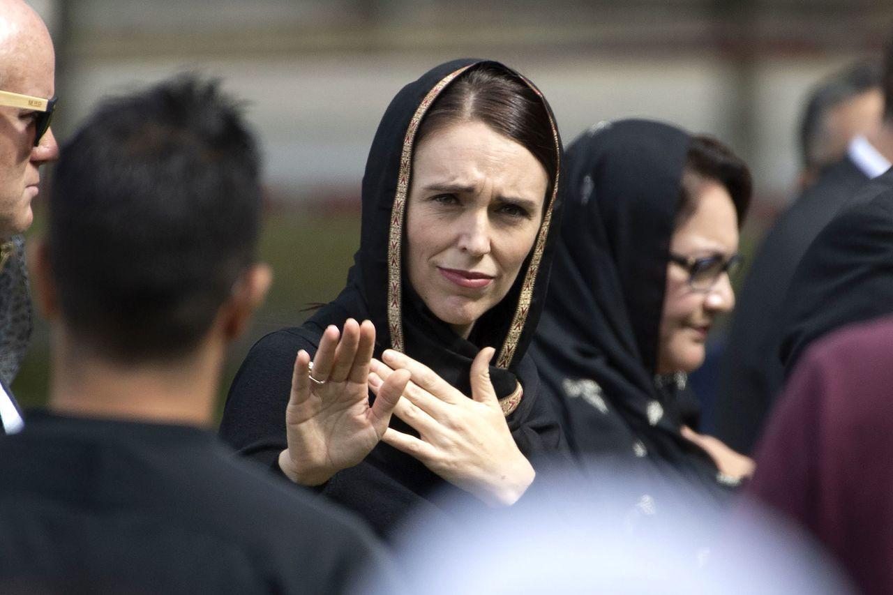紐西蘭總理阿爾登(Jacinda Ardern)。 法新社