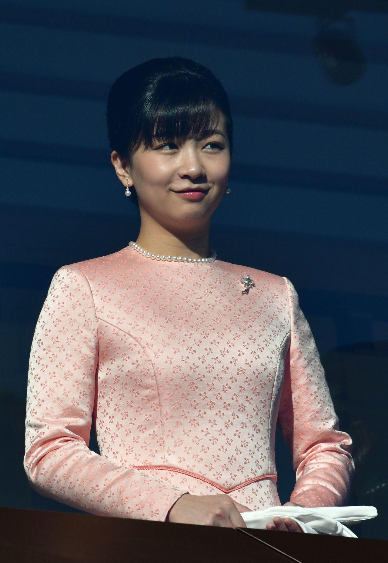 24歲的日本皇室秋篠宮夫婦的小女兒佳子內親王。 法新社