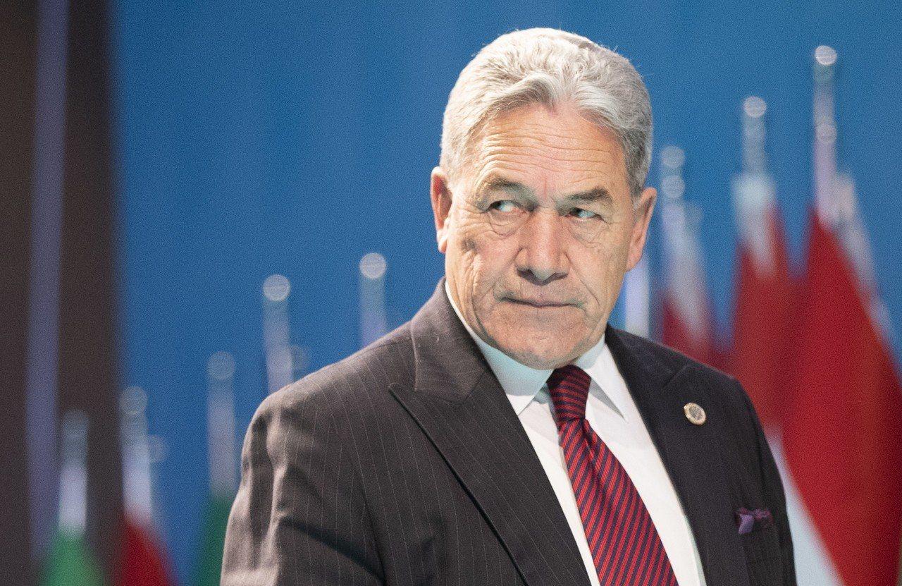 紐西蘭副總理兼外長皮特斯(Winston Peters)。 歐新社