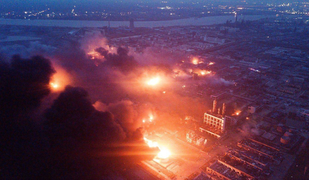 江蘇鹽城大爆炸:至少47死,化工疏失的中國公共安全慘劇