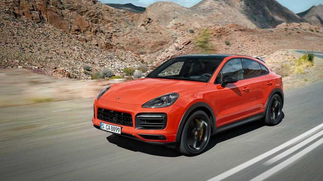 圖為全新Porsche Cayenne Coupe。 摘自Porsche