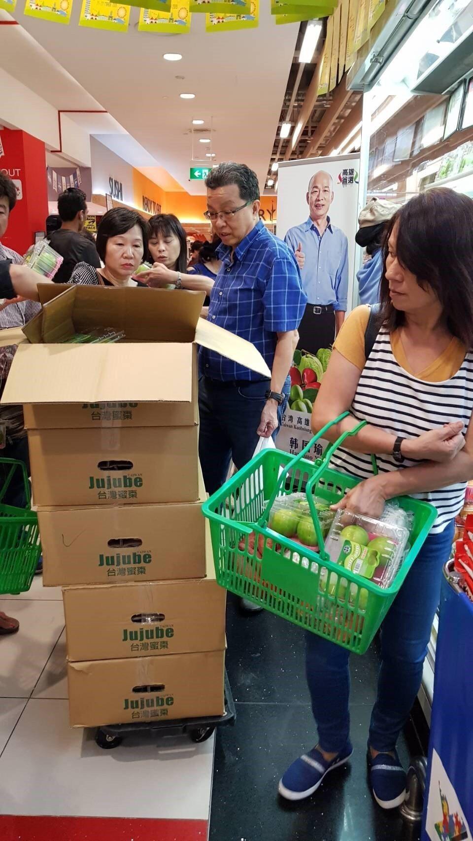 到台灣旅行過的新加坡人對於蜜棗念念不忘,清脆香甜的蜜棗在新加坡超市也能購買。...