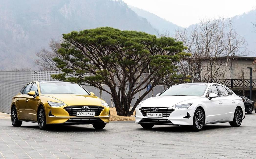 第八代Hyundai Sonata正式發表。 摘自Hyundai