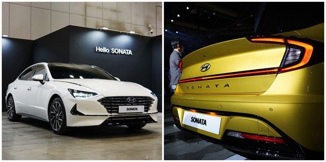 第八代Hyundai Sonata是Hyundai首部呈現Sensuous Sp...