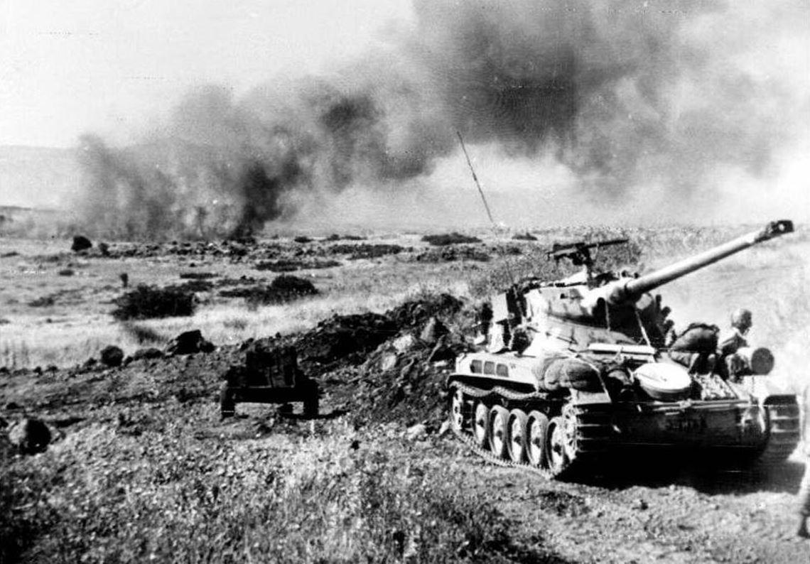 1967年「六日戰爭」,先發制人的以色列以分兵奇襲的方式,同步擊潰了埃及、敘利亞...