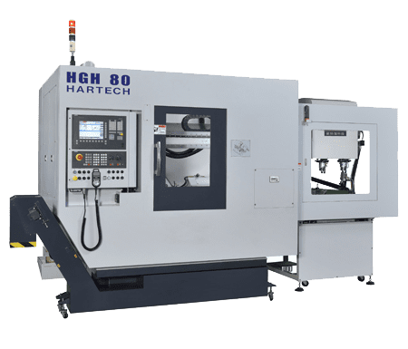 CNC臥式齒輪滾齒機HGH-80。 和大工業/提供