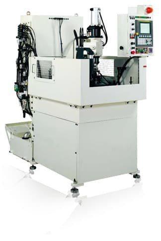 CNC齒輪倒角(稜)機HGD-250-NC2。 和大工業/提供