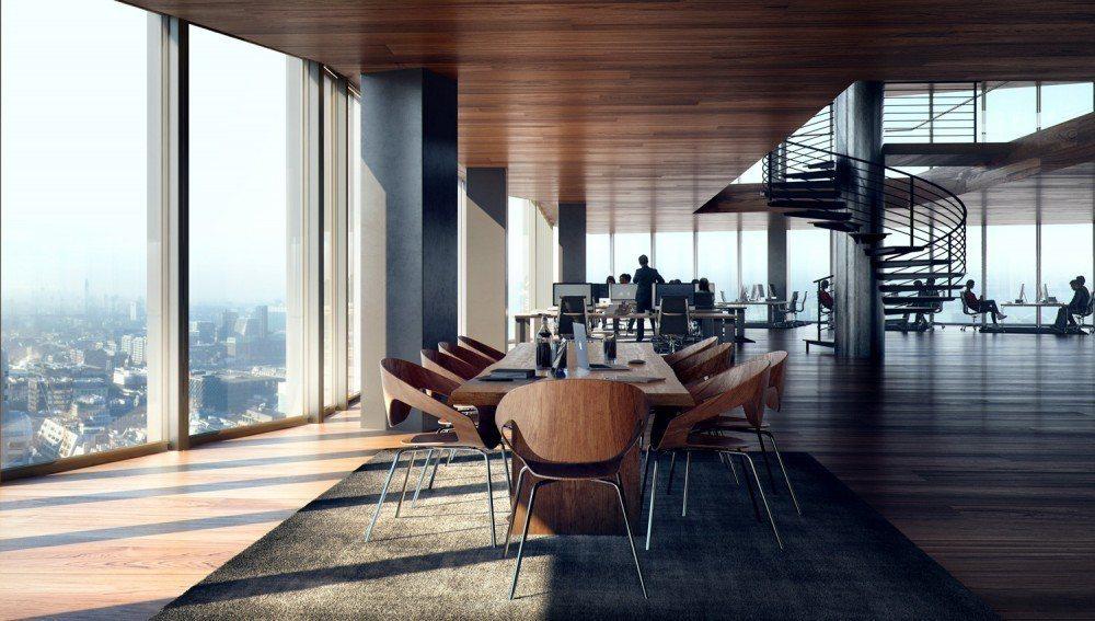英國泰晤士報將主教門大街22號譽為新一代「智慧建築」的典範。 圖/取自主教門大街...