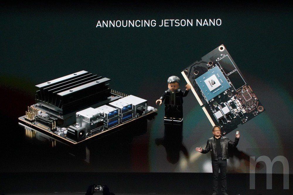 沒開玩笑,本屆GTC 2019唯一發表硬體新品就是Jetson Nano