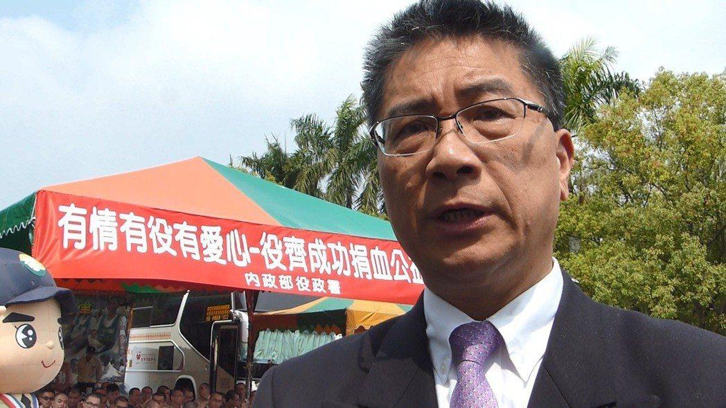 內政部長徐國勇認為,高雄市長韓國瑜應該會堅守台灣是主權獨立的國家。記者趙容萱/攝...