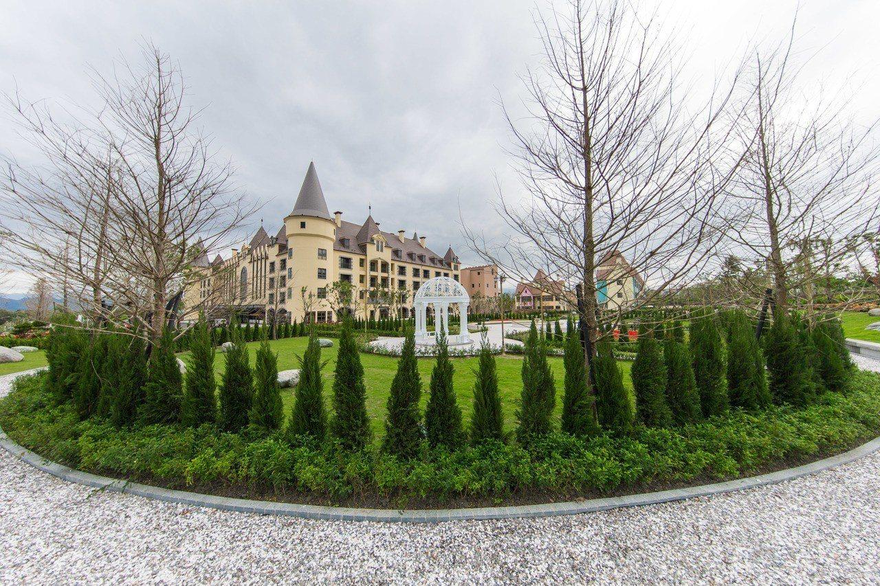 享有「台版迪士尼」、「歐風城堡飯店」、「花蓮霍格華茲」美譽的瑞穗春天國際觀光酒店...