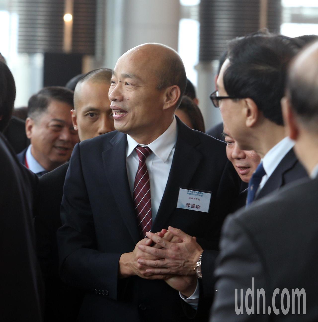 影/韓國瑜帶領市府團隊 與香港簽下23億合約