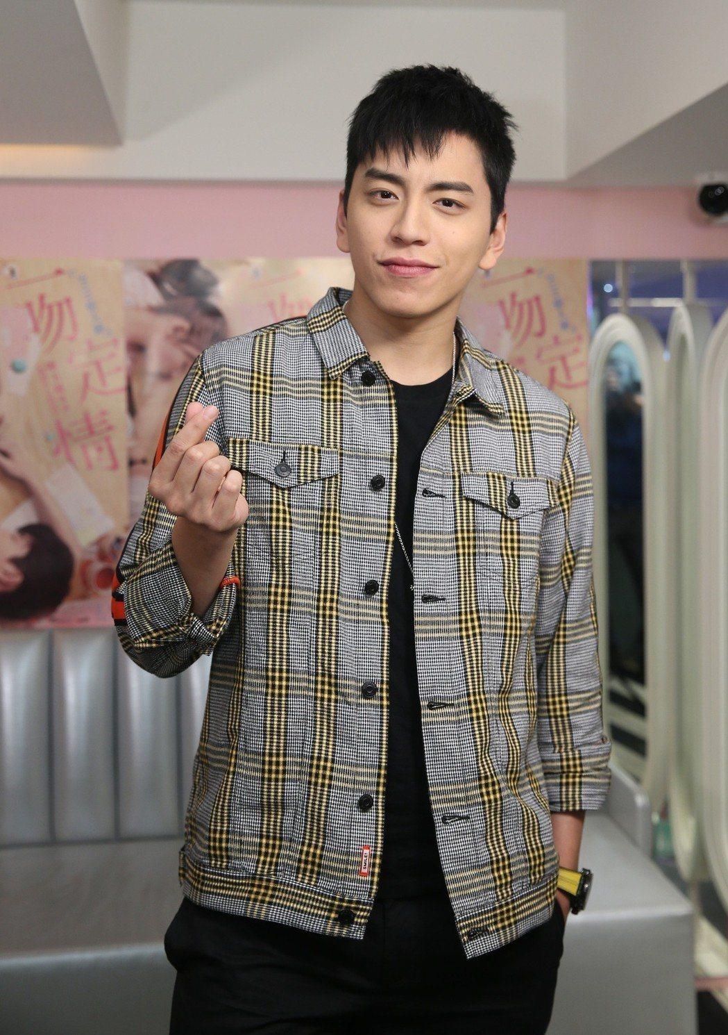 王大陸主演新片「一吻定情」前進韓國宣傳,原本要舉辦的記者會臨時取消。記者曾吉松/