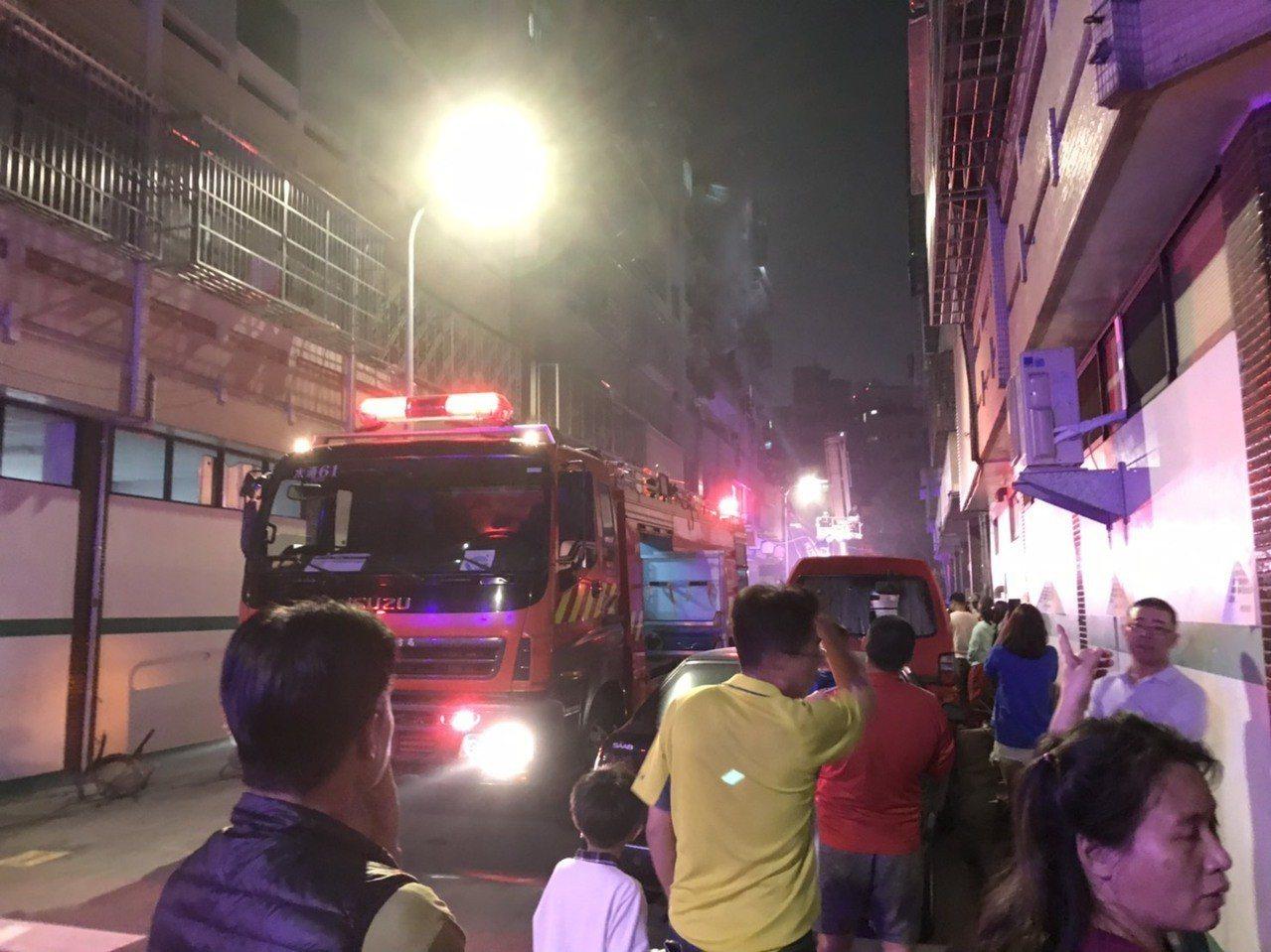 台中民宅火警 8歲男童輕微嗆傷、意識清楚送醫