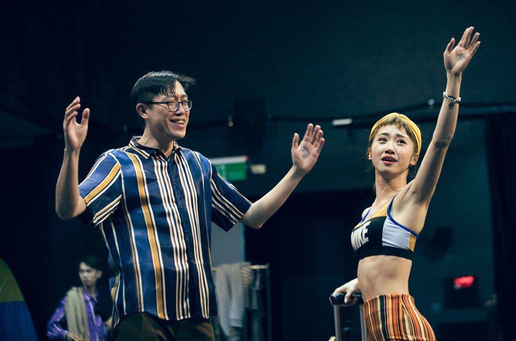 LuLu黃路梓茵演出舞台劇「單身租隊友」。圖/楊景翔演劇團提供