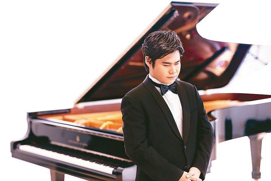 日本天才鋼琴家辻井伸行於四月在台中演出。 圖/Yuji Hori提供