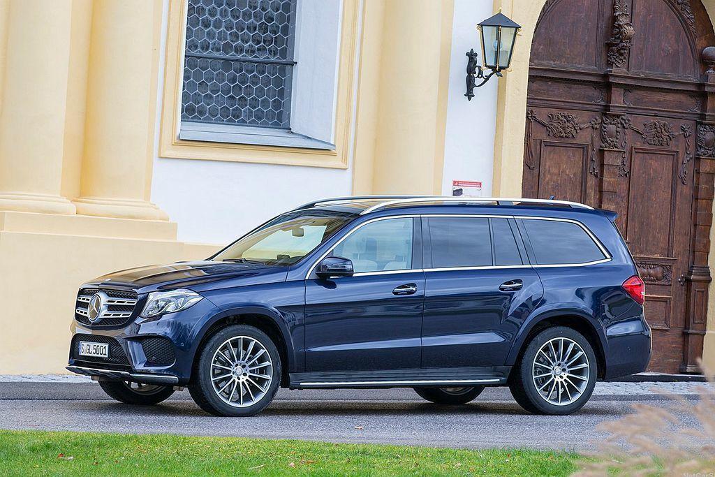 賓士GLS休旅車是目前品牌身形最大的乘用車,今年將推出全新第三代車型。 圖/Me...