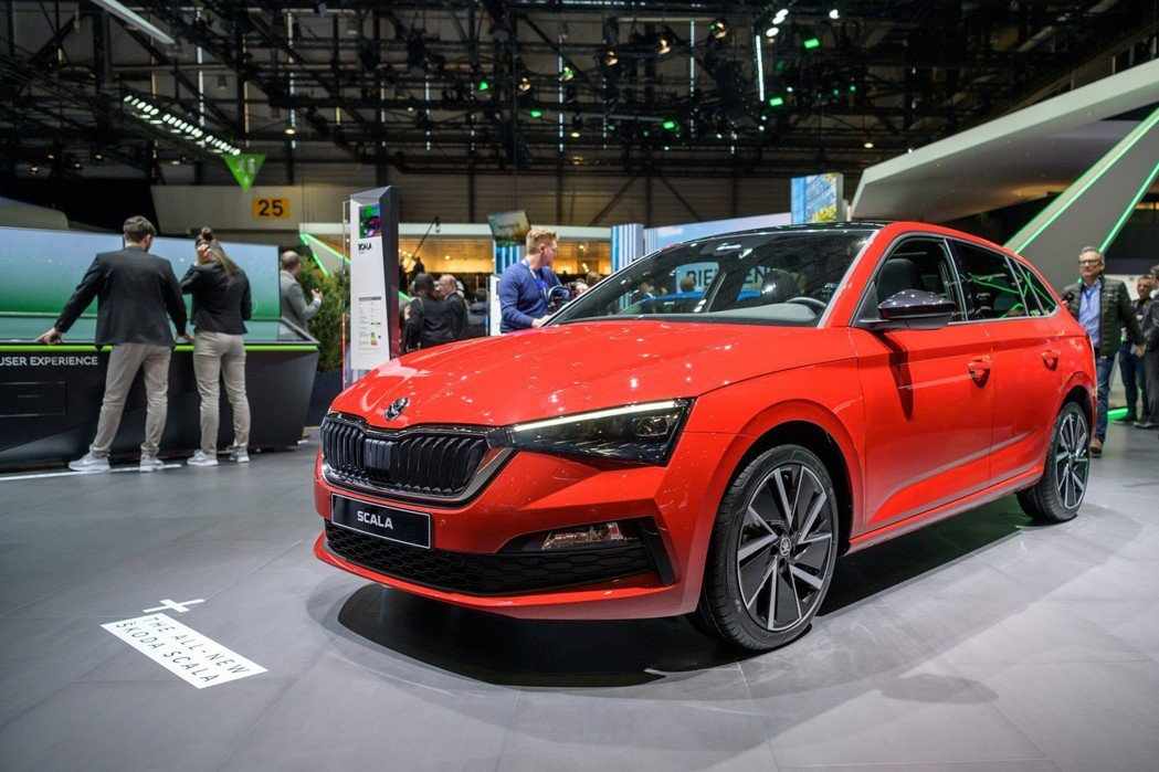 ŠKODA Scala是品牌第一款搭載MQB A0模組化底盤的車型。 摘自ŠKO...